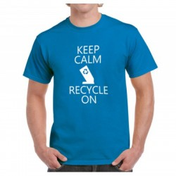 Keep Calm Recycle On - T-shirt