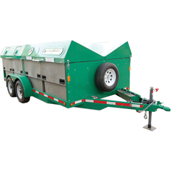 Recycle Ranger Multi-Compartment Trailer