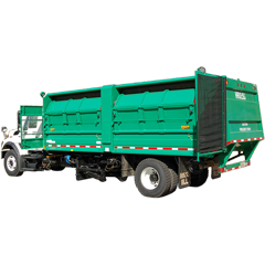 RP-Series Multi-Compartment Side Load Collection Truck