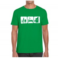 Eat Sleep Dump T-Shirt (CompPak, Men's)
