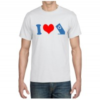 I Heart Hid-A-Bag T-Shirt (Men's)