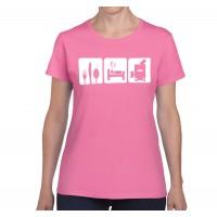 Eat Sleep Dump T-Shirt (CompPak, Women's)
