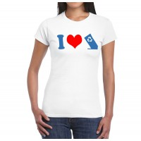 I Heart Hid-A-Bag T-Shirt (Women's)